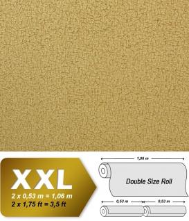 Textiltapete Vliestapete EDEM 948-28 Tapete XXL Vintage Lederlook Falten-Optik Seidenglanz Grünbraun olivgrün 10, 65 qm