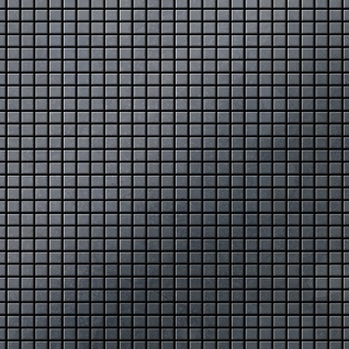 Mosaik Fliese massiv Metall Rohstahl gewalzt in grau 1, 6mm stark ALLOY Glomesh-RS 1, 07 m2