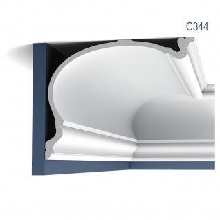 Stuck Wandleiste Orac Decor C344 HERITAGE XXL LUXXUS Eckleiste Profilleiste Stuckleiste Deckenprofil klassisch | 2 Meter
