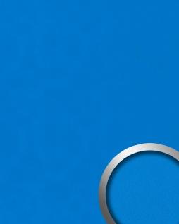 Dekorpaneel Nappaleder Optik WallFace 20422 Antigrav Cobalt Blue Wandverkleidung glatt in Leder Optik matt blau 2, 6 m2