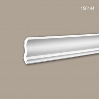 Eckleiste PROFHOME 150144 Zierleiste Stuckleiste Neo-Klassizismus-Stil weiß 2 m