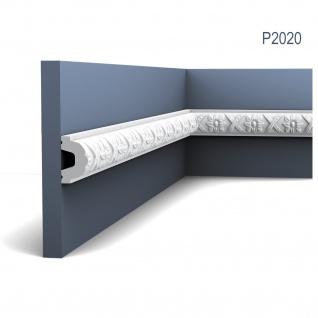 Stuck Wandleiste Orac Decor P2020 LUXXUS Friesleiste Stuck Leiste Wand Dekor Profil Zierleiste Wand mit Relief 2 Meter