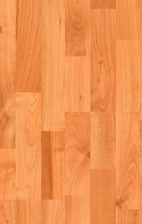 MEISTER 457 Klick Laminat Laminatboden Kirsche Holz-Nachbildung 3-Stab Schiffsboden | 3, 06 qm / 12 Dielen - Vorschau 1