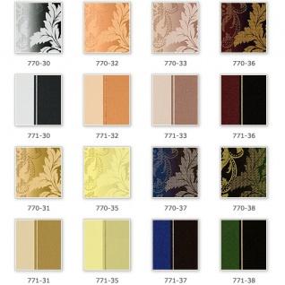 Streifen Tapete EDEM 771-31 Vinyl Tapete Luxus Hochwertig Barock olive-grün gelbgrün bronze - Vorschau 4