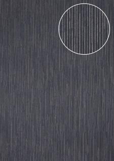 Edle Streifen Tapete Atlas COL-558-2 Vliestapete strukturiert mit Struktur schimmernd blau violett-blau gold 5, 33 m2