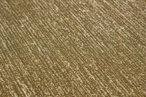 Hochwertige Ton-in-Ton Tapete Atlas COL-526-2 Vliestapete glatt mit abstraktem Muster schimmernd gold bronze 5, 33 m2 - Vorschau 2