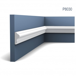 Wandleiste Stuck Orac Decor P8030 LUXXUS Wandprofil Stuck Profil Friesleiste Dekor Leiste Zierleiste Wand | 2 Meter