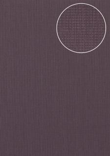 Struktur Tapete Atlas COL-527-6 Vliestapete strukturiert unifarben schimmernd violett purpur-violett pastell-violett 5, 33 m2