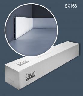 Orac Decor SX168-box 1 Karton SET mit 17 Sockelleisten Wandleisten 34 m