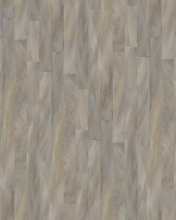 Streifen Tapete Profhome VD219143-DI heißgeprägte Vliestapete geprägt mit Streifen dezent schimmernd grau elfenbein 5, 33 m2