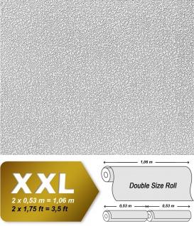 Vliestapete zum Überstreichen EDEM 304-60 XXL Dekor Tapete streichbar rauhfaser maler weiß putz-optik | 26, 50 qm - Vorschau 2