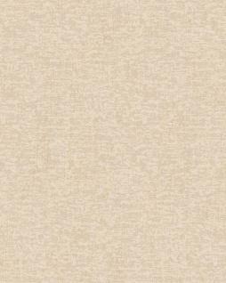 Textiloptik Tapete Profhome DE120052-DI heißgeprägte Vliestapete geprägt Ton-in-Ton matt creme elfenbein 5, 33 m2
