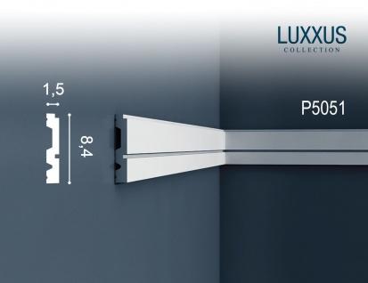 Orac Decor P5051 LUXXUS 1 Karton SET mit 18 Wandleisten Zierleisten | 36 m - Vorschau 2