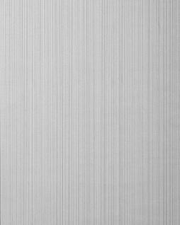 Streifen-Tapete EDEM 557-16 Hochwertige Tapete strukturiert in Textiloptik matt grau-weiß signal-grau silber-grau 5, 33 m2