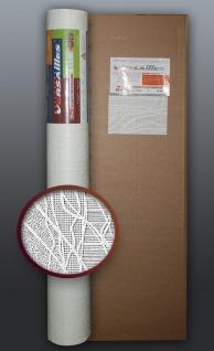 EDEM 80341BR60 1 Kart 4 Rollen überstreichbare Vliestapete kreative dekor-optik weiß 106 qm