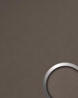 Dekorpaneel Leder Optik WallFace 19024 DOVE TALE Wandpaneel glatt in Nappaleder Optik matt selbstklebend braun grau-beige 2, 6 m2