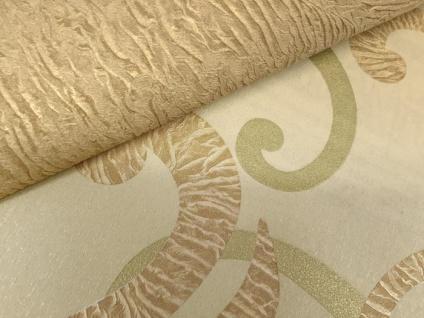 Blumen Tapete XXL Vliestapete EDEM 928-22 Abstraktes florales Muster Design Blumentapete gold creme beige 10, 65 m2 - Vorschau 2