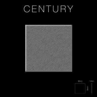 Mosaik Fliese massiv Metall Edelstahl gebürstet in grau 1, 6mm stark ALLOY Century-S-S-B 0, 5 m2 - Vorschau 2