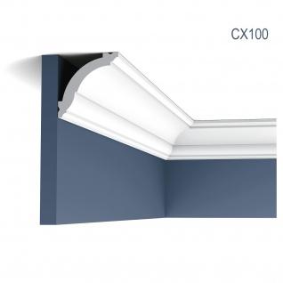 Zierleiste Profilleiste Orac Decor CX100 AXXENT Stuck Profil Wand Leiste Decken Leiste 2 Meter