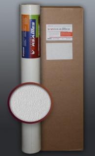 EDEM 80378BR60 1 Kart 5 Rollen Decor Decken Wand Vlies-Tapete zum Überstreichen weiß 132 qm