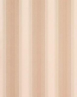 Streifen Tapete EDEM 085-23 Designer Tapete Vinyltapete rotbraun apricot altrosa creme 5, 33 qm