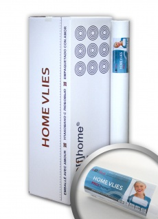 HomeVlies 130 g Renoviervlies Malervlies glatte Vliestapete ohne Struktur zum Überstreichen weiß | 225 qm 9 Rollen