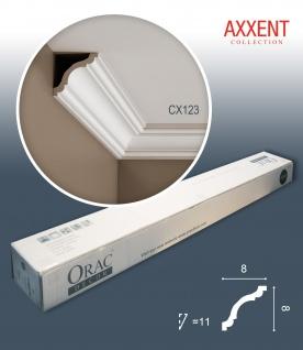 Orac Decor CX123 AXXENT 1 Karton SET mit 24 Stuckleisten | 48 m