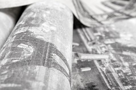 Romantische Tapete EDEM 9050-10 Vliestapete geprägt im Shabby Chic Stil Paris Eiffelturm Notre Dame schimmernd weiß grau anthrazit 10, 65 m2 - Vorschau 3