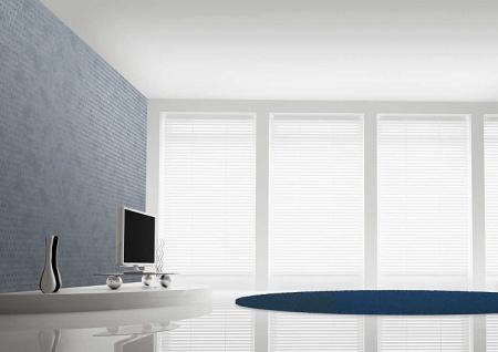 Grafik Tapete Atlas ICO-1705-4 Vliestapete glatt mit abstraktem Muster schimmernd grau tauben-blau silber 5, 33 m2 - Vorschau 4