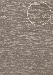 Exklusive Luxus Tapete Atlas COL-552-5 Vliestapete strukturiert im Used Look schimmernd braun braun-grau beige-grau 5, 33 m2