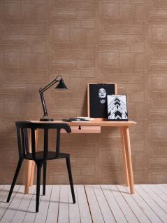 3D Tapete Profhome 364942-GU Vinyltapete glatt im Used Look matt kupfer braun 5, 33 m2 - Vorschau 3