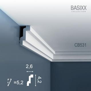 Orac Decor CB531 BASIXX 1 Karton SET mit 60 Stuckleisten   120 m - Vorschau 2