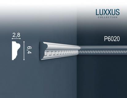 Friesleiste Stuck Orac Decor P6020 LUXXUS Wandleiste Zierleiste Stuck Dekor Profil detailscharfes Relief | 2 Meter