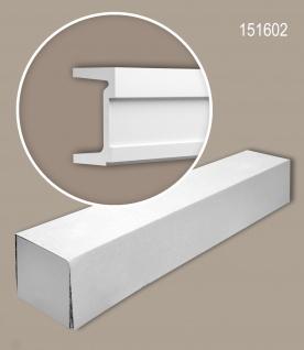 Profhome 151602 1 Karton SET mit 2 Wand- und Friesleisten Zierleisten Stuckleisten | 4 m