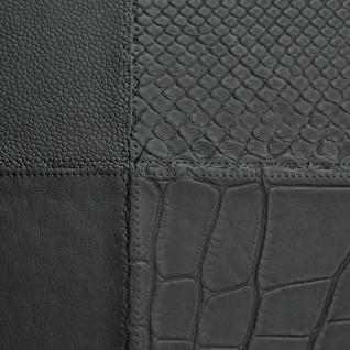 1 MusterstÜck S-15031-sa Wallface Collage Nero Leather Collection | Wandpaneel Muster In Ca. Din A4 Größe - Vorschau 2