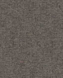 Textiloptik Tapete Profhome DE120058-DI heißgeprägte Vliestapete geprägt Ton-in-Ton matt anthrazit grau 5, 33 m2