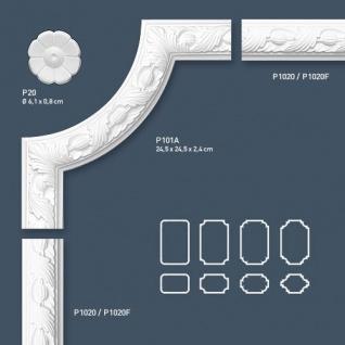 Stuck Wandleiste Orac Decor P1020 LUXXUS Friesleiste Stuckleiste Wand Dekor Profil Zierleiste Wand mit Relief | 2 Meter - Vorschau 3