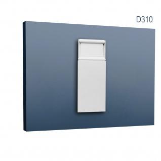 Türumrandung Stuck Orac Decor D310 LUXXUS Sockel Zierelement Profil Wand Dekor Element robust und stoßfest 25 cm hoch