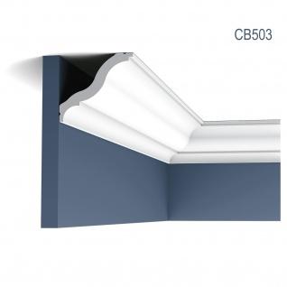 Eckleiste Stuck Orac Decor CB503 BASIXX Zierleiste Stuckprofil Stuckleiste Dekor klassisch Wand Decken Leiste 2 Meter