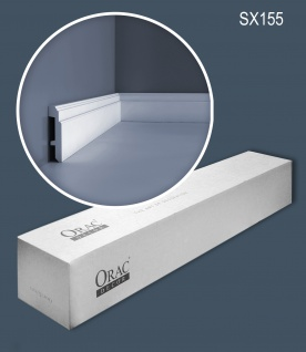 Orac Decor SX155 LUXXUS 1 Karton SET mit 14 Sockelleisten Profilleisten   28 m