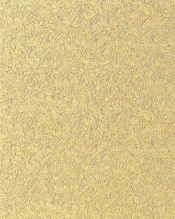 Uni Tapete EDEM 706-21 Hochwertige Luxus Heißpräge Struktur Tapete gelb gold bernstein-gelb - Vorschau 1