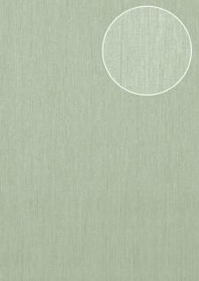 Hochwertige Ton-in-Ton Tapete Atlas COL-526-1 Vliestapete glatt mit abstraktem Muster schimmernd grün blass-grün 5, 33 m2