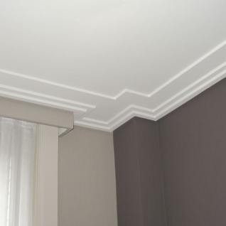 Dekor Profil Orac Decor C353 LUXXUS Eckleiste Zierleiste Decken Stuck Leiste Dekorleiste Gesims Profilleiste | 2 Meter - Vorschau 3