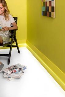 Sockelleiste Orac Decor SX179 MODERN DIAGONAL Zierleiste Fußleiste Modernes Design weiß 2m - Vorschau 4