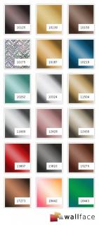 Wandpaneel Spiegel Dekor Glanz-Optik WallFace 15275 DECO BRONZE Paneel Wandverkleidung selbstklebend braun 2, 60 qm - Vorschau 2