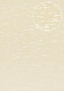 Exklusive Luxus Tapete Atlas COL-552-3 Vliestapete strukturiert im Used Look schimmernd creme hell-elfenbein 5, 33 m2