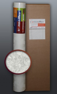 EDEM 322-60 1 Kart 5 Rollen überstreichbare Vliestapete kreative Wandgestaltung weiß 132 qm