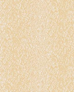 Tiermotiv Tapete Profhome DE120125-DI heißgeprägte Vliestapete geprägt mit Schlangenmuster glänzend creme gold 5, 33 m2