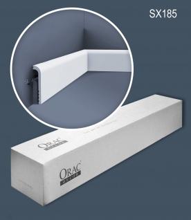 Orac Decor SX185-box 1 Karton SET mit 24 Sockelleisten Stuckleisten | 48 m