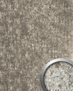 Wandpaneel Antique Design Wandverkleidung WallFace 17231 IMPACT Shabby Chic selbstklebend vintage silber grau 2, 60 qm